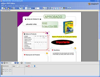Captura de pantalla de eXPert PDF 4 Pro 4